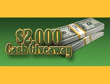 $2000 Cash Giveaway