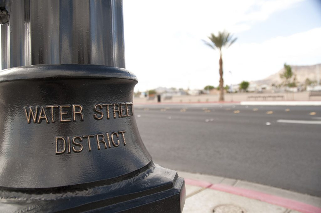 water street district light pole
