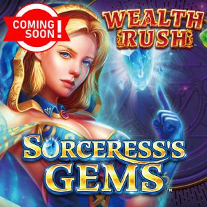 Sorceress's Gems Casino game at Rainbow Club Casino
