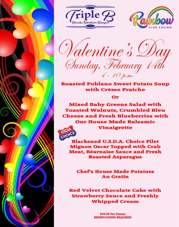 Rainbow-Club-Casino's-Valentine's-Day-Menu-2021