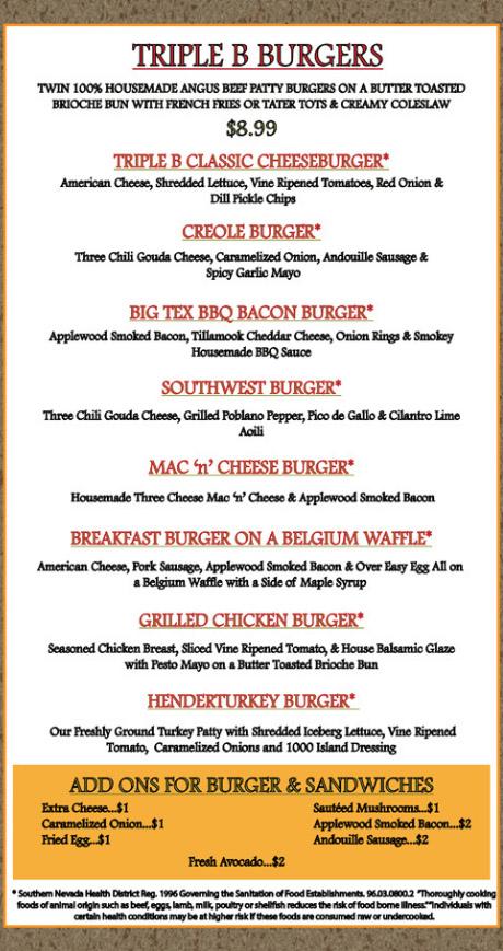 Triple B Burgers