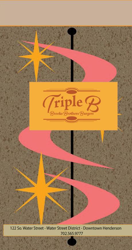 Triple B Menu - Cover