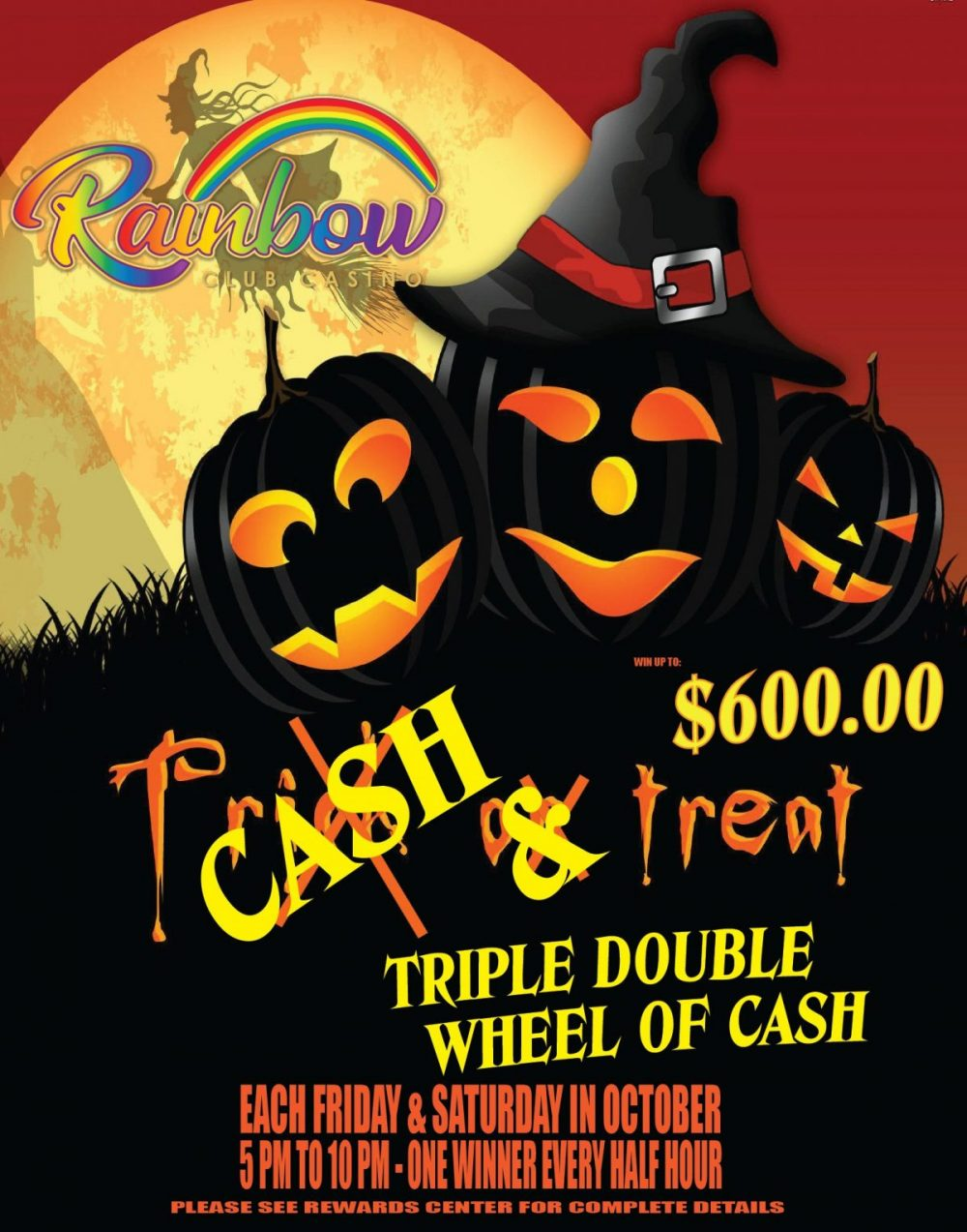 October Wheel of cash