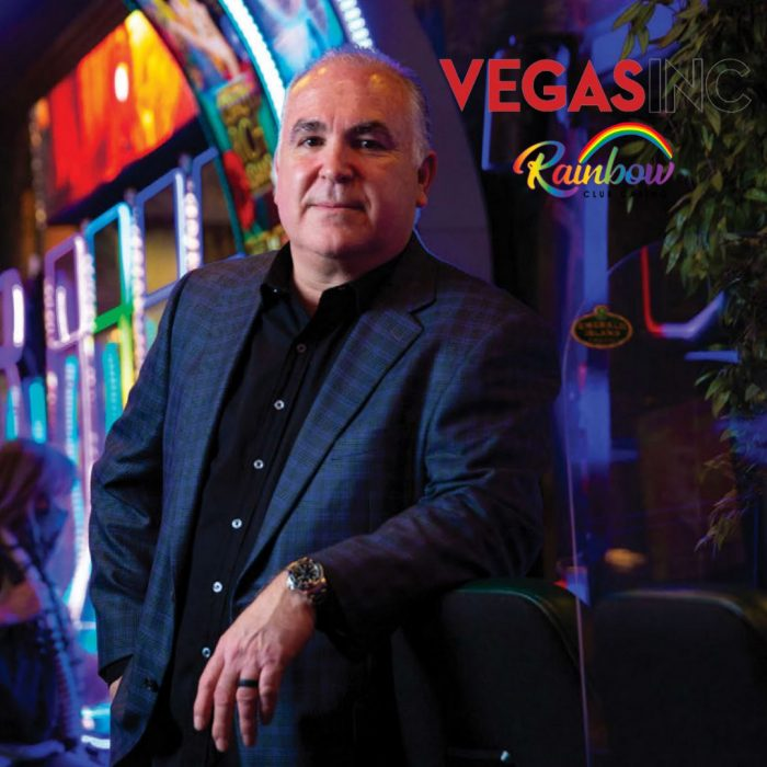 Tim Brooks, co-owner of Rainbow Club Casino, in Vegas Inc